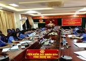 VKSND tỉnh Nghệ An tổ chức phiên tòa hình sự rút kinh nghiệm trực tuyến