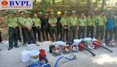 Thanh Hóa Diễn tập nhưng phải chữa cháy rừng thật
