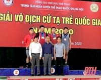 Thanh Hóa Nhiều Giải vô địch cho bộ môn Cử tạ trẻ quốc gia 2020