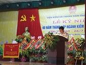 VKSND tỉnh Hoà Bình Xứng đáng với lời dạy của Bác Hồ