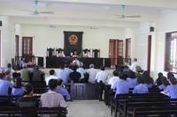 Xét xử rút kinh nghiệm trực tuyến vụ án dân sự đầu tiên trên địa bàn tỉnh Nghệ An