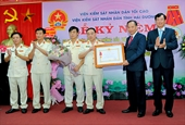 VKSND tỉnh Hải Dương đón nhận Huân chương Lao động hạng Nhì