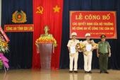 Công bố quyết định bổ nhiệm 2 Phó Giám đốc Công an tỉnh Gia Lai