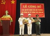 Công an tỉnh Gia Lai có 2 tân Phó giám đốc