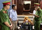 Cảnh sát tạm giữ quyền Trưởng phòng thuộc Ban dân tộc tỉnh Nghệ An và 1 giám đốc