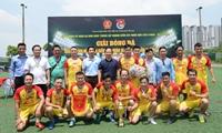 Giải bóng đá Đoàn thanh niên VKSND tối cao lần thứ VI thành công tốt đẹp