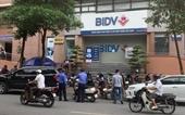 Ngân hàng BIDV thông tin về vụ nổ súng để cướp tiền sáng nay