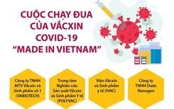 Việt Nam dự kiến có vắcxin COVID-19 vào tháng 10 2021