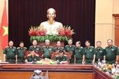 Thiếu tướng Lê Đức Thái phụ trách Tư lệnh Bộ đội Biên phòng