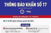 20 địa điểm tại Đà Nẵng, Quảng Nam ai từng đến cần khai báo y tế ngay