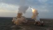 Iran phóng tên lửa đạn đạo từ lòng đất