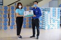 """Vinamilk ủng hộ gần 170 000 sản phẩm cho 3 địa phương Miền Trung đang là """"Điểm nóng"""" COVID-19"""
