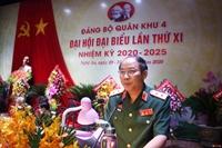 Trung tướng Trần Võ Dũng tái đắc cử Bí thư Đảng ủy Quân khu 4