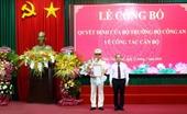 Trao quyết định bổ nhiệm Giám đốc Công an tỉnh Thừa Thiên-Huế