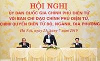 Thủ tướng phê chuẩn Danh sách thành viên Ủy ban Quốc gia về Chính phủ điện tử