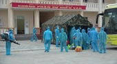 Sư đoàn 375, Quân chủng Phòng không - Không quân tiếp nhận 180 công dân đến cách ly