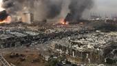 Video hiện trường sau vụ nổ rung chuyển thủ đô Beirut
