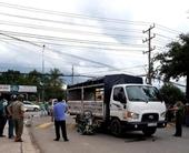 Xe tải tông chết đôi nam nữ trên đường rẽ đại lộ Bình Dương