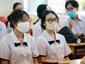 Gian lận thi tốt nghiệp THPT từ… khẩu trang Bộ GD-ĐT khuyến cáo