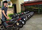 Đối tượng gây ra 15 vụ trộm xe máy liên tỉnh sa lưới