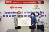 Tập đoàn Hưng Thịnh tiếp sức TP Đà Nẵng và Quảng Nam phòng chống dịch COVID-19