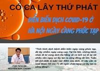 Có ca lây thứ phát, dịch COVID-19 ở Hà Nội ngày càng phức tạp