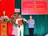 Công bố và trao quyết định bổ nhiệm Viện trưởng VKSND tỉnh Tây Ninh