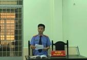 VKSND huyện Tri Tôn, tỉnh An Giang phối hợp tổ chức phiên tòa hình sự rút kinh nghiệm