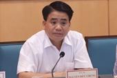 Vì sao ông Nguyễn Đức Chung bị đình chỉ công tác