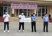 Tuyển thủ Đội tuyển bóng đá nam quốc gia Việt Nam ủng hộ 300 triệu cho tâm dịch Đà Nẵng