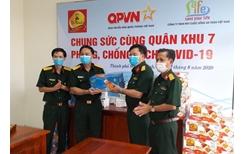 72 000 sản phẩm Trà Thanh Nhiệt Dr Thanh tiếp tục tiếp sức đồng bào, chiến sĩ tại Quân khu 5 và Quân khu 7