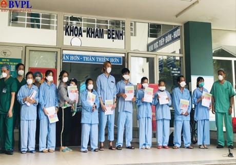 Thêm 10 bệnh nhân COVID-19 ở Đà Nẵng được công bố khỏi bệnh