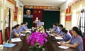 Kiểm tra công tác kiểm sát tại VKSND huyện Đức Thọ