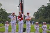 Lễ treo cờ rủ Quốc tang nguyên Tổng Bí thư Lê Khả Phiêu tại Lăng Chủ tịch Hồ Chí Minh