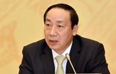Phê chuẩn khởi tố, bắt tạm giam cựu Thứ trưởng Bộ GTVT Nguyễn Hồng Trường