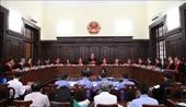 Dự thảo Nghị quyết hướng dẫn áp dụng một số quy định về thủ tục giám đốc thẩm, tái thẩm