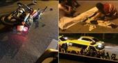 Chạy tốc độ cao trên đường Yên Phụ, nam thanh niên lao vài cột đèn tử vong