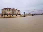 Khu trung tâm hành chính huyện Kỳ Anh ngập nước Sai sót từ khâu lập đồ án quy hoạch
