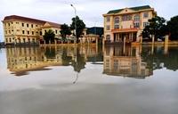 Trung tâm hành chính mới huyện Kỳ Anh ngập nước Sở Xây dựng biện minh, chuyên gia khẳng định sai sót không thể khắc phục