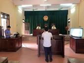 Thực hiện số hóa hồ sơ, trình chiếu tài liệu, chứng cứ bằng hình ảnh tại phiên tòa hình sự