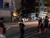 Hải Phòng thông tin vụ xe Lexus đâm liên hoàn ở phố đi bộ khiến một nữ công an tử vong