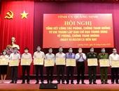 Khen thưởng VKSND tỉnh Quảng Ninh trong công tác phòng, chống tham nhũng