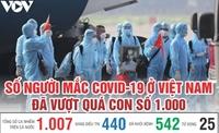 Việt Nam đã có 1 007 ca mắc Covid-19 tại 39 tỉnh, thành