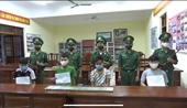 Bắt giữ 4 đối tượng người Lào vận chuyển 10 bánh heroin vào Việt Nam tiêu thụ