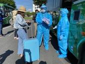 Quảng Ngãi điều động 29 xe ô tô, đón hơn 700 công dân từ vùng dịch Đà Nẵng về quê