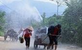 Nhiều khu vực trên cả nước có mưa, khả năng xảy ra lốc, sét và gió giật mạnh