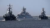 Nhiều tàu ngầm và chiến hạm Nga bất ngờ xuất hiện ở Địa Trung Hải