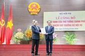 Trưởng ban Ban Tôn giáo Chính phủ được bổ nhiệm làm Thứ trưởng Bộ Nội vụ