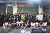 Bắt 21 đối tượng truy nã người Trung Quốc ẩn náu tại Lào Cai