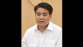 Khởi tố bị can, bắt tạm giam Chủ tịch UBND TP Hà Nội Nguyễn Đức Chung